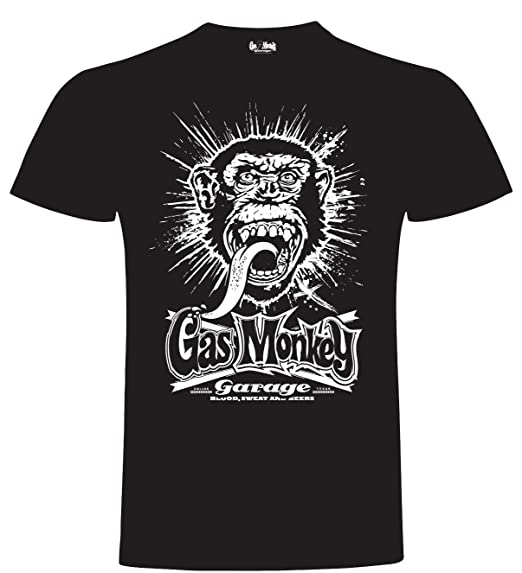 Gas Monkey Garage T-Shirt Explosion Black-S: Amazon.es: Ropa y accesorios