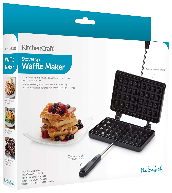 Amazon.com: Kitchencraft Non-stick Traditional Belgian ...