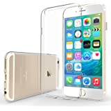 Yousave Accessories iPhone 6 / 6S Case [0.5mm] Ultra Slim & Lightweight Crystal Clear Protective Cover [Precision Fit]