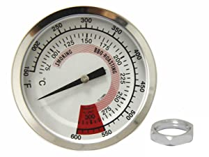 Hongso 3.125 inch TG600F Heat Indicator Replacement for Gas Grill Model Kitchen Aid 720-0745, 720-0733, Nexgrill 720-0745, 720-0745A, 720-0826; Perfect Flame 3019L, 3019LNG