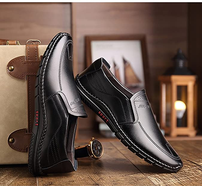 Amazon.com   GFP 2018 Mens Casual Shoes, Formal Business Work Comfy Moccasins, Flat Shoes, Loafers Shoes, Comfort Breathable Mens Fashion Shoes   Loafers ...
