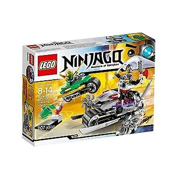 Lego Ninjago - El Ataque de OverBorg, Juego de construcción (70722)