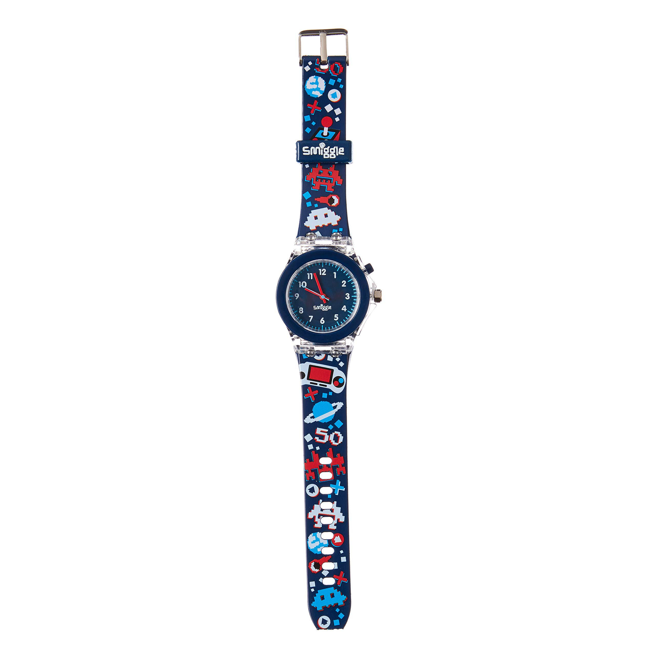 Smiggle Mash Light Time Watch - Navy
