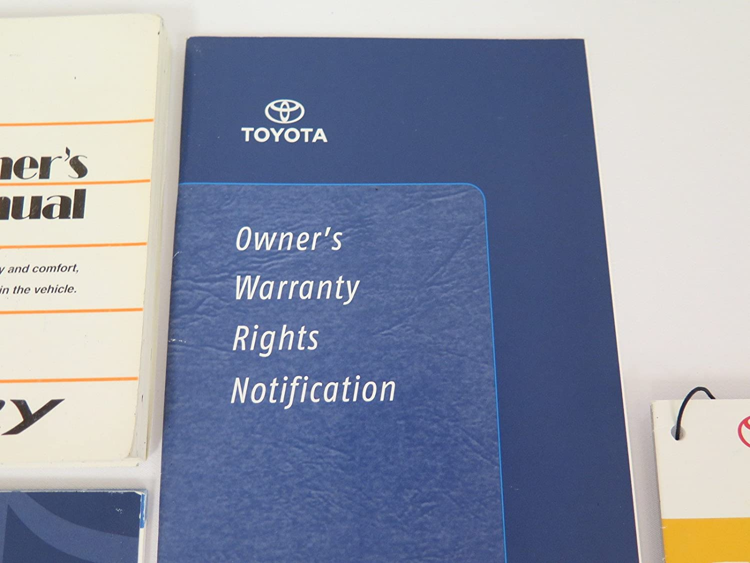 Amazon.com: 2007 Toyota Camry Owner's Manual: Toyota Motor Co.: Automotive