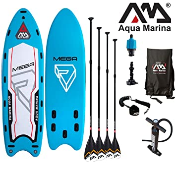Aqua Marina MEGA 550 x 152 x 20cm Hinchable SUP Board / de suelo Up Tablero