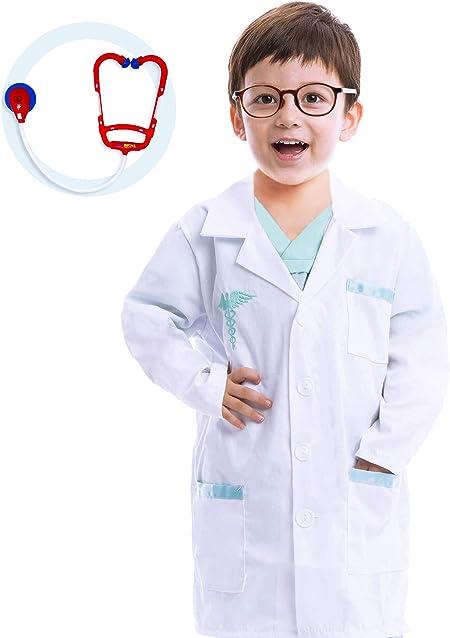 Spooktacular Creations Disfraces de Doctor para Niño Cosplay (S): Amazon.es: Juguetes y juegos