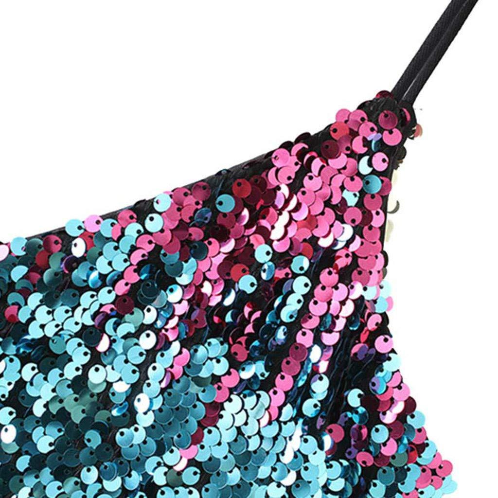 Vectry Vestidos De Boda Largos Elegante con Lentejuelas Vestidos Lentejuelas Cortos Vestidos Cortos Verano 2019 Vestidos Mujer Casual Vestidos De Coctel Elegantes