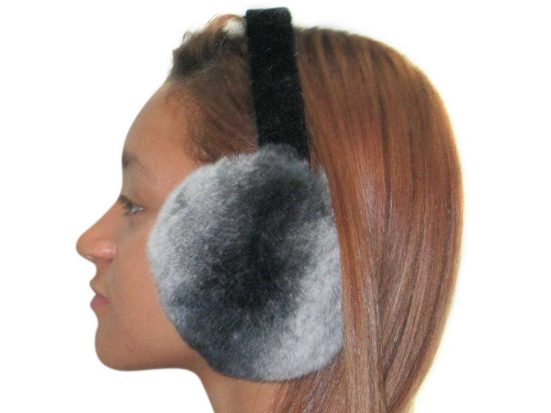 Rex Chinchilla Ear Muffs