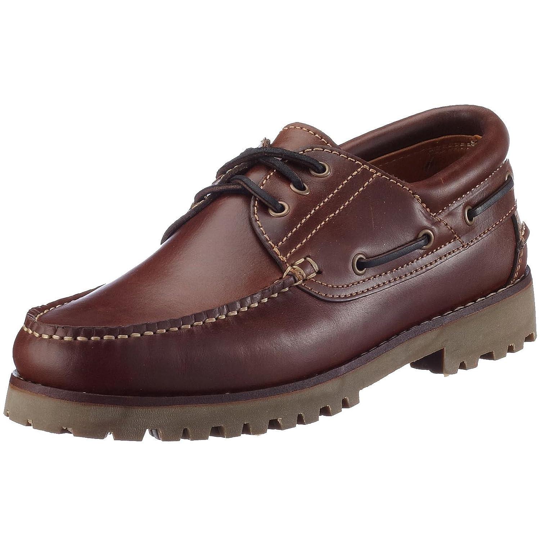 Loake - Zapatos de cordones de cuero para hombre 46 EU|Marrón (Braun (Chbrownwaxyleather))