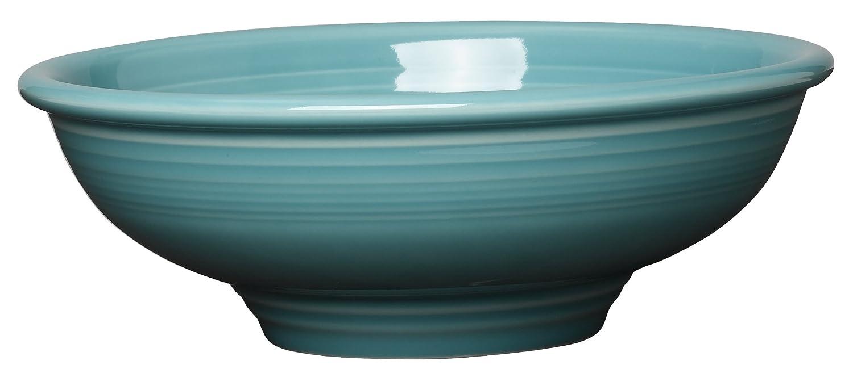 Fiesta 64-Ounce Pedestal Bowl, Turquoise
