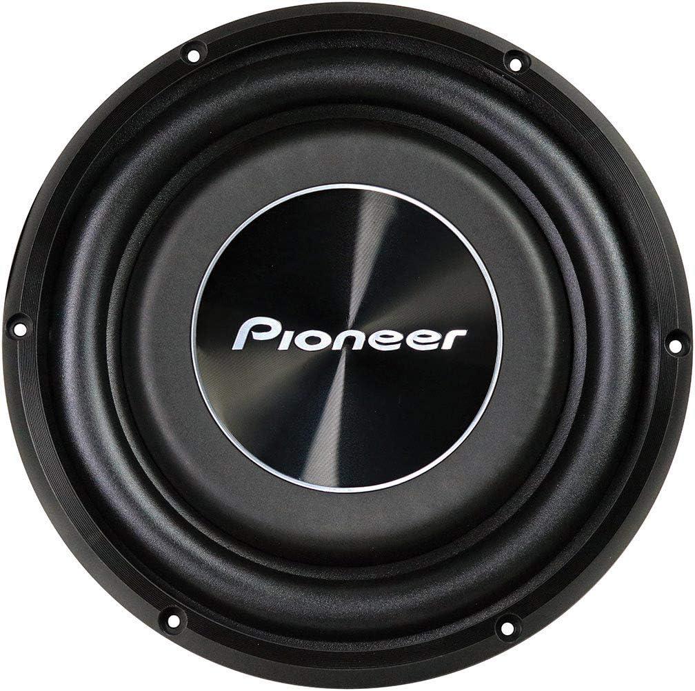 Pioneer TS-A2500LS4 1200 Watt 10 Shallow Mount 4 Ohm SVC Subwoofer