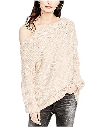 939e91f697 RACHEL Rachel Roy Women s Long-Sleeve One-Shoulder Sweater Blossom XS at  Amazon Women s Clothing store