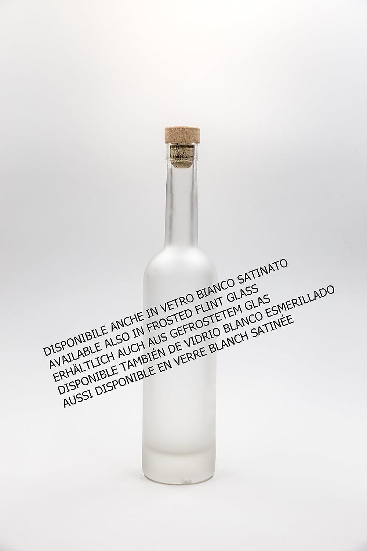 nr 1 pezzo art Bottiglia Bordolese Usa 500 ml vetro bianco tappo n/°59