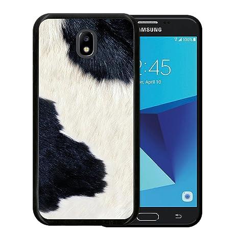 WoowCase Funda Samsung Galaxy J5 2017, [Samsung Galaxy J5 2017 ] Funda Silicona Gel Flexible Animal Skin Estampado Vaca, Carcasa Case TPU Silicona - ...