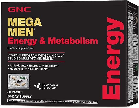 GNC Mega Men Energy & Metabolism Vitapak Program