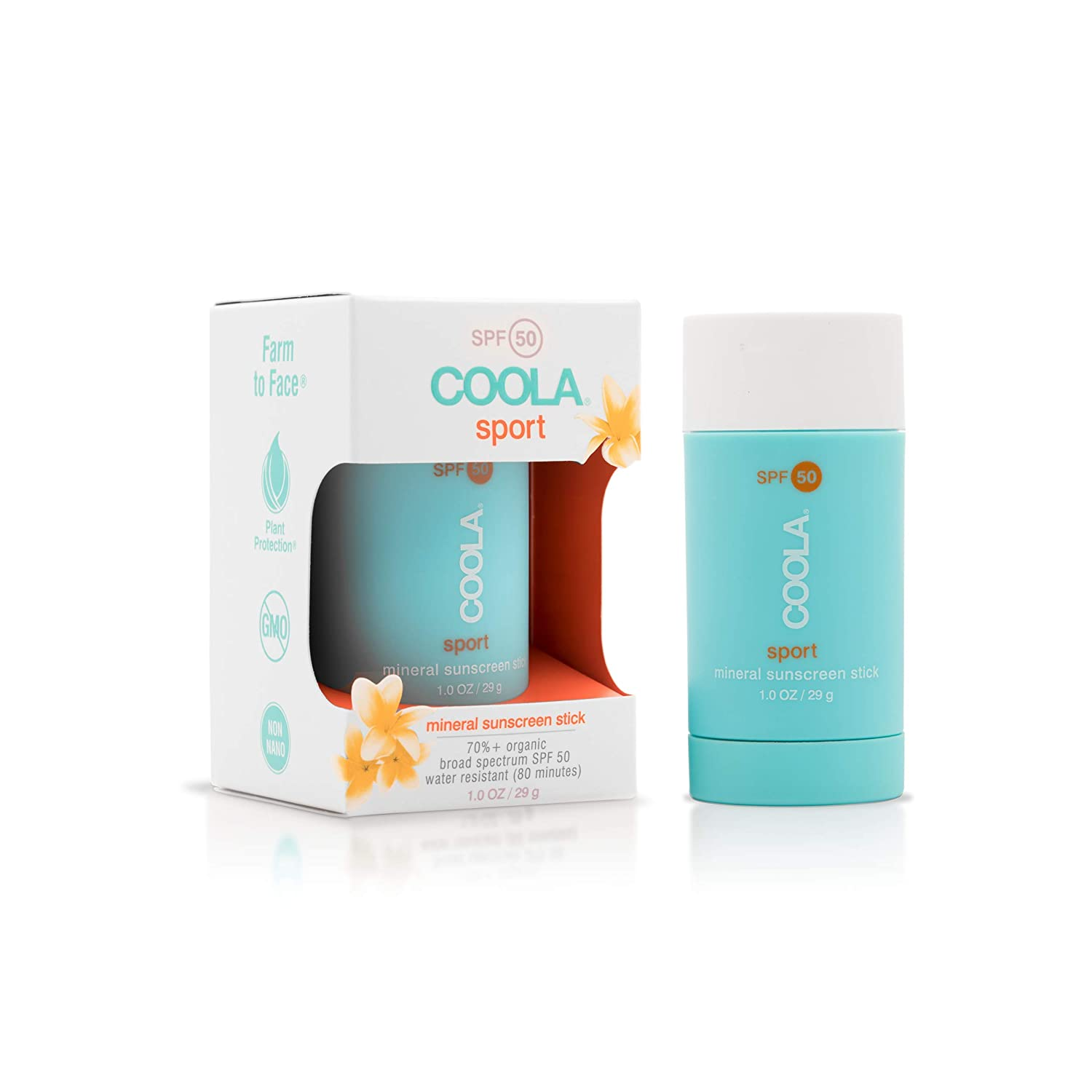 5b768d943 COOLA COOLA Mineral Sunscreen Stick SPF 50, 1 oz.: Amazon.ca: Luxury ...