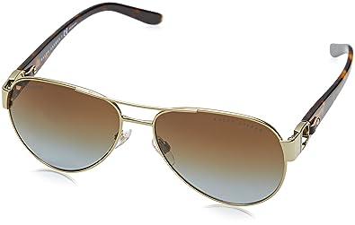 297295f6693cb Amazon.com  Ralph by Ralph Lauren Women s 0rl7047q Polarized Aviator  Sunglasses