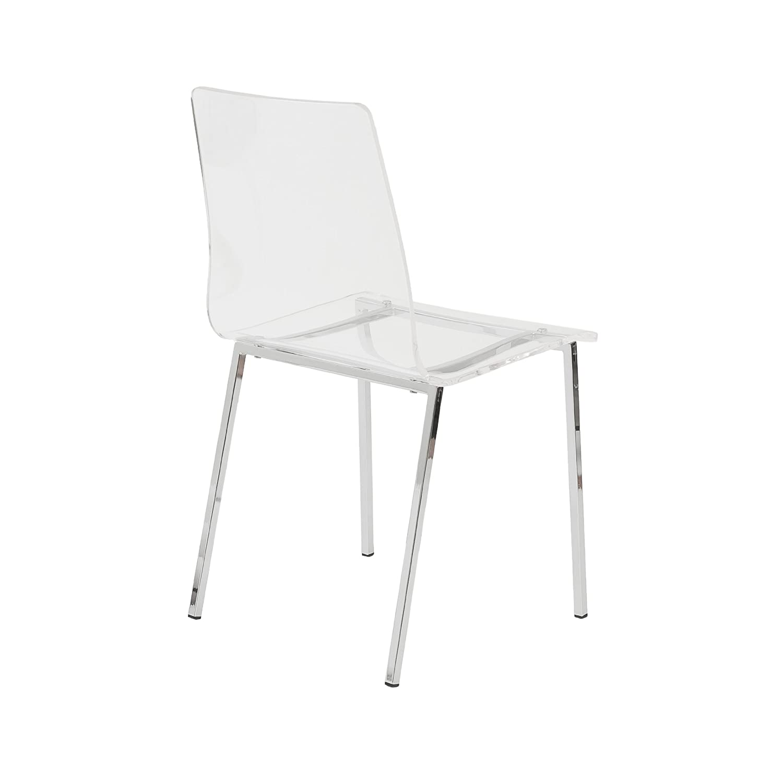 Amazon.com: Euro Estilo Chloe silla de oficina: Kitchen & Dining
