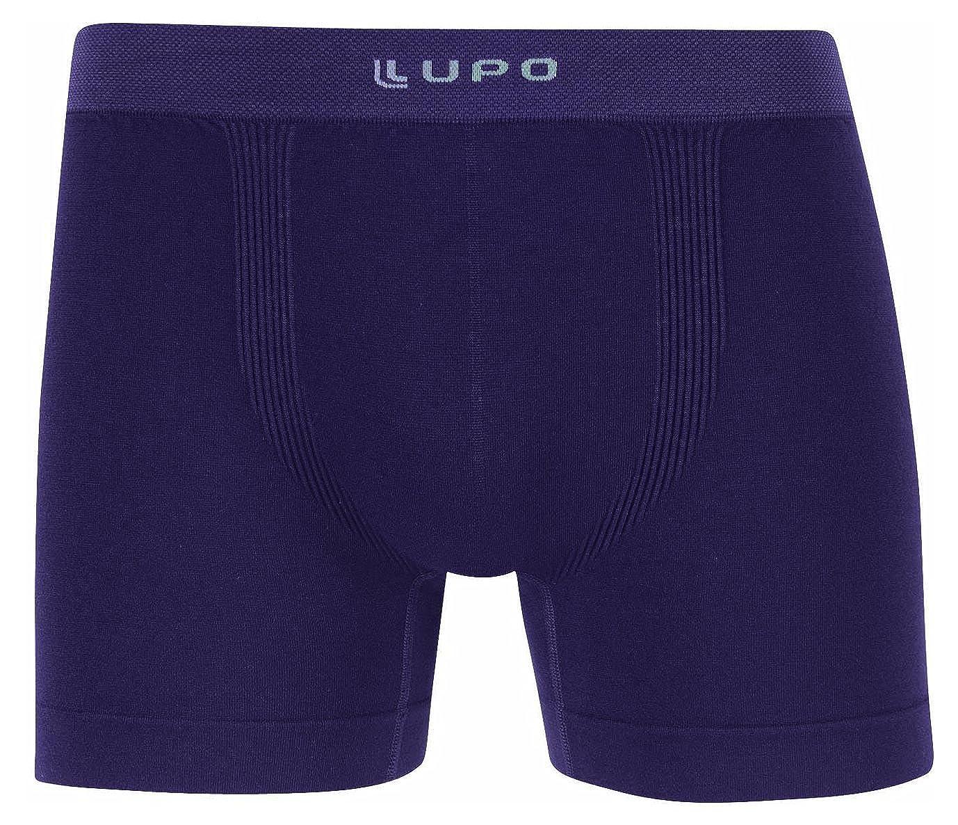 Lupo Micro Modal Seamless Men s Boxer Brief Underwear at Amazon Men s  Clothing store  252d09731cb