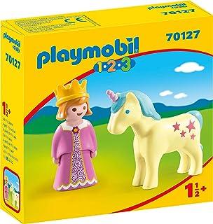 PLAYMOBIL - Caja de almacenaje de plástico 13 L – 38, 5 x 27, 5 x 18, 5 cm – Princesas: Amazon.es: Hogar