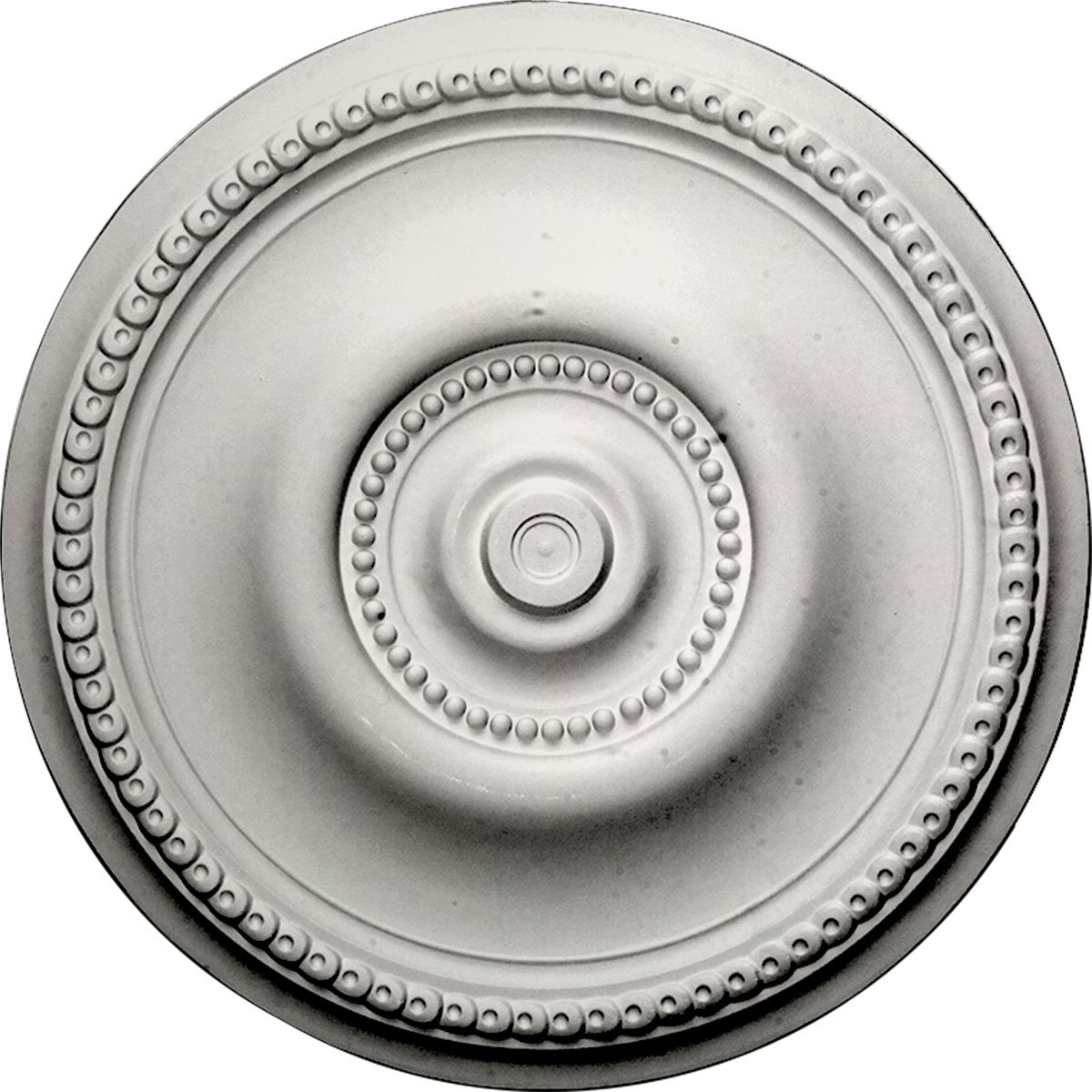 Ekena Millwork CM20BEPCF Raynor Ceiling Medallion, 20 5/8'' OD x 1 3/8'' P, Pot of Cream