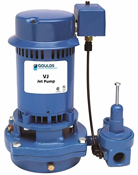 goulds vj10 vertical deep water well jet pump, 1 hp, single phase, 115 230 v vertical turbine pump bowl diagram goulds jet pump wiring diagram #12