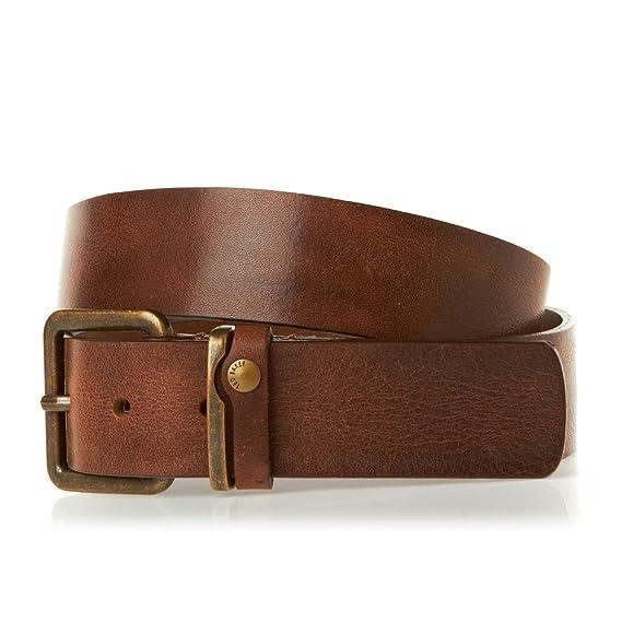 fc8de5e9b Ted Baker Mens Leather Katchit Belt with Metal Buckle - Tan  Amazon ...