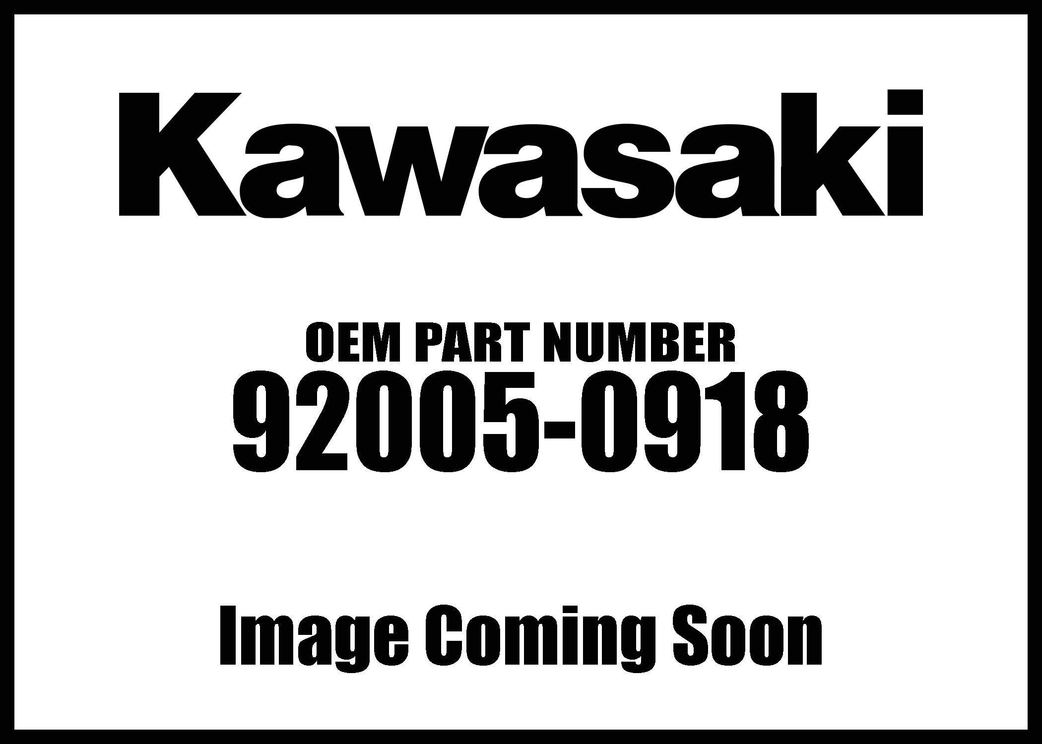 Kawasaki 2019 Plow Eye Bolt Part 92005-0918 New Oem