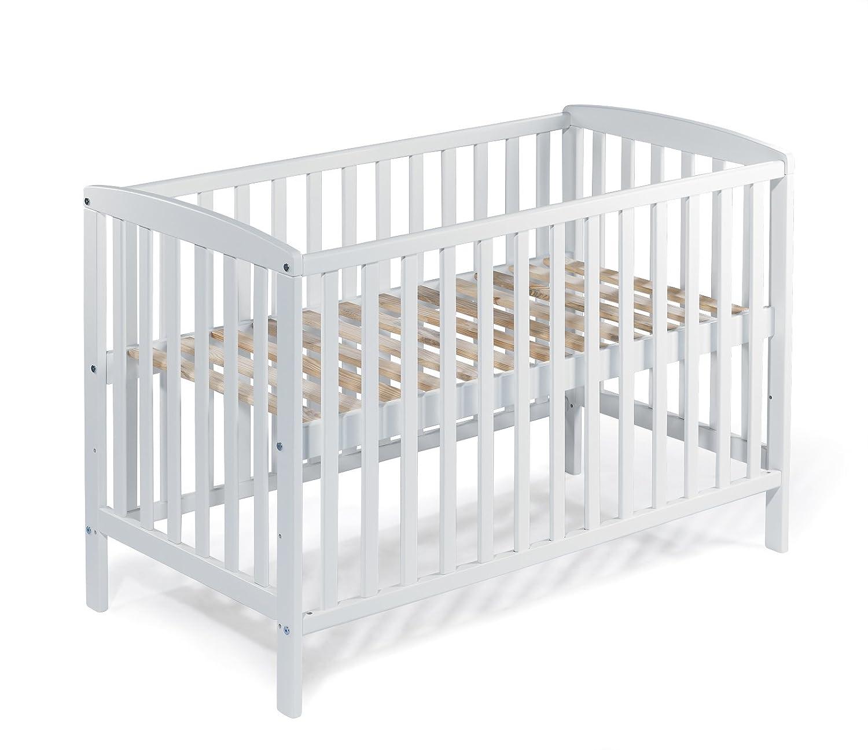KOKO- Babybett |MAX | 140x70 cm | BUCHE | umbaubar KOKO-Kinderartikel