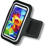 Black Protective Gym Running Cycling Jogging Sport Armband Case for Apple iPhone 4 & 4s & 5c & 5 & 5s & 6 & iPod touch 5th Generation