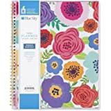 "Blue Sky 2018-2019 Academic Year Weekly & Monthly Planner, Flexible Cover, Twin-Wire Binding, 8.5"" x 11"", Mahalo"