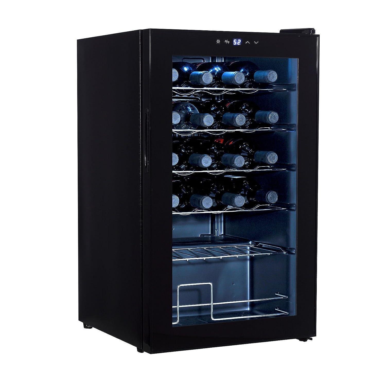 Amazoncom Mecor 24 Bottle Compressor Wine Cooler Freestanding Wine Chiller Refrigerator