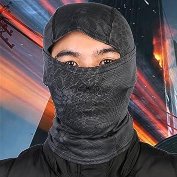 Cascabel camuflaje militar táctica Headwear pasamontañas de ...