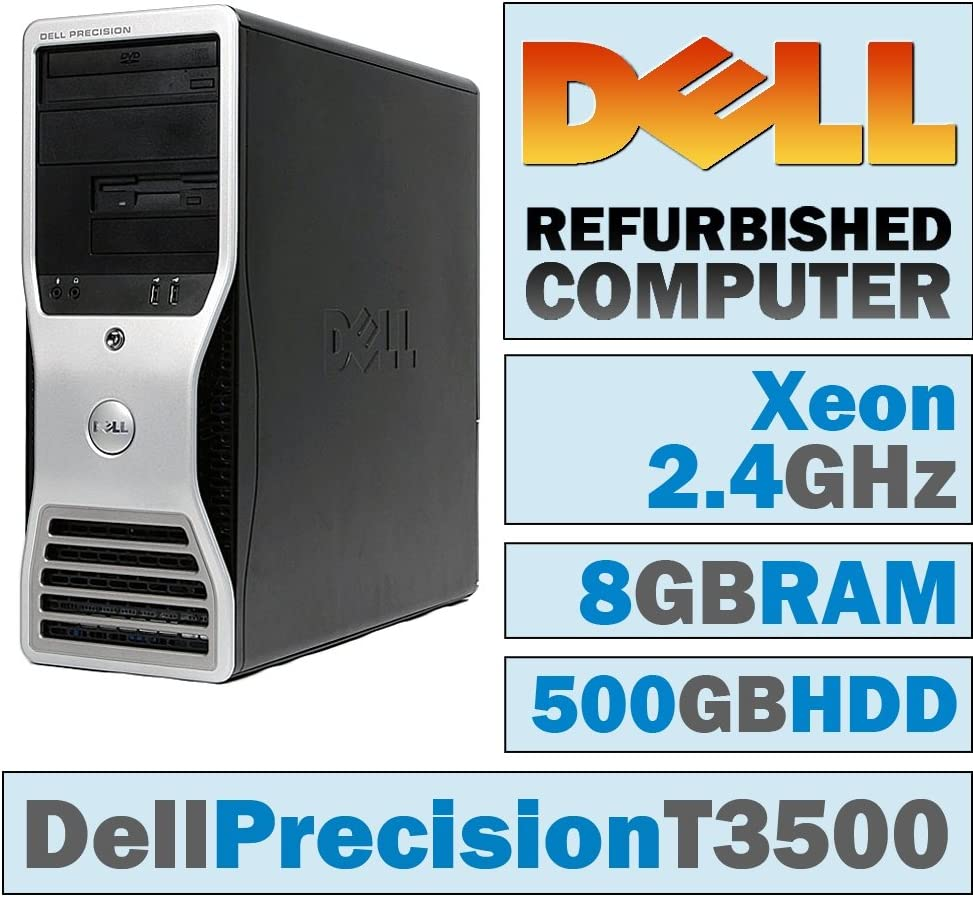 Dell Precision T3500 Workstation Six Core X5650 2.66GHz 6GB RAM NO HDD