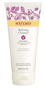 Burt's Bees Renewal Refining Cleanser, Firming Face Wash, 6 Ounces