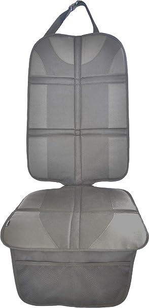 Autositzauflage Grau Premium Royal Oxford Material Zum Schutz Vor Kindersitzen Isofix Geeignet Auto Kindersitzunterlage Wasserabweisend Autositzschutz Unterlage Schoner In Universeller Passform Baby
