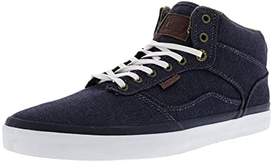 68569e9123 Image Unavailable. Image not available for. Colour  Vans Men s Bedford  Suiting Clash Ankle-high Skateboarding Shoe Parisian Blue 11 ...