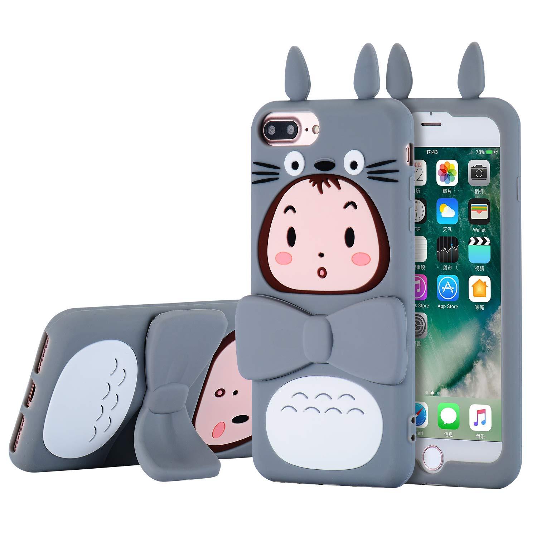 quality design cdb8a 5e678 TopSZ Totoro Case for iPhone 8 Plus /7 Plus /6 6s Plus +5.5