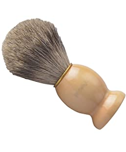 CSB Shaving Brush 100% Pure Badger Hair with Hard Wood Handle Men's Luxury Professional Hair Salon Tool for Shaving