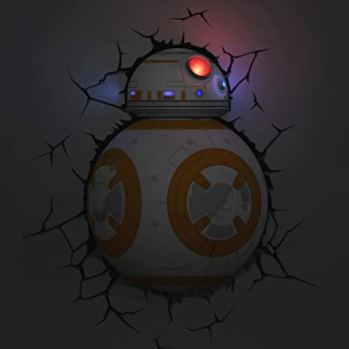 Amazon.com: 3d Light FX – Lámpara Star Wars BB-8 Droid 3d ...
