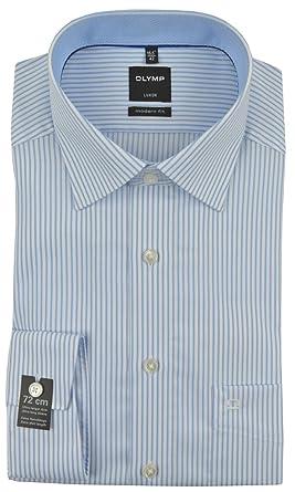Hemden Olymp Hemd Luxor Modern Fit extra Langer Arm 72 cm
