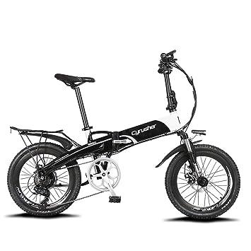 Bicicleta plegable de acero o aluminio