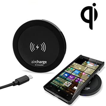 a6e538ffd746c Aircharge Qi Travel Wireless Charging Pad without Plug  Amazon.co.uk ...