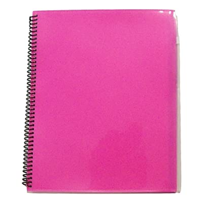 "Studio C Carolina Pad Zip-it Notebook with Zipper Pouch Cover ~ Purple (5"" X 7""; 80 Sheets, 160 Pages): Toys & Games"