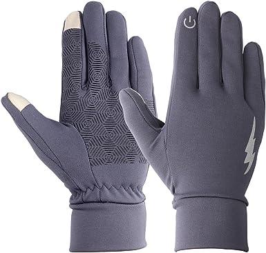 SHABEI Sports Touchscreen Gloves, Unisex Outdoor Antideslizante Guantes de Dedo Completo a Prueba de Viento Warm Gloves para Ciclismo de Esqu¨ª ...