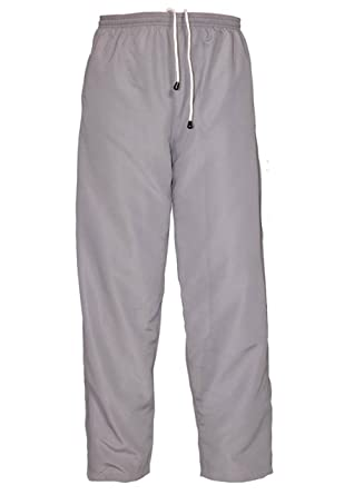 60e0c2dfddc0 Sterling Sports Mens Tracksuit Bottoms Mesh Lining Silky Casual Gym Jogging  Joggers Sweat Pants Grey Size S, M. L.XL.XXLarge