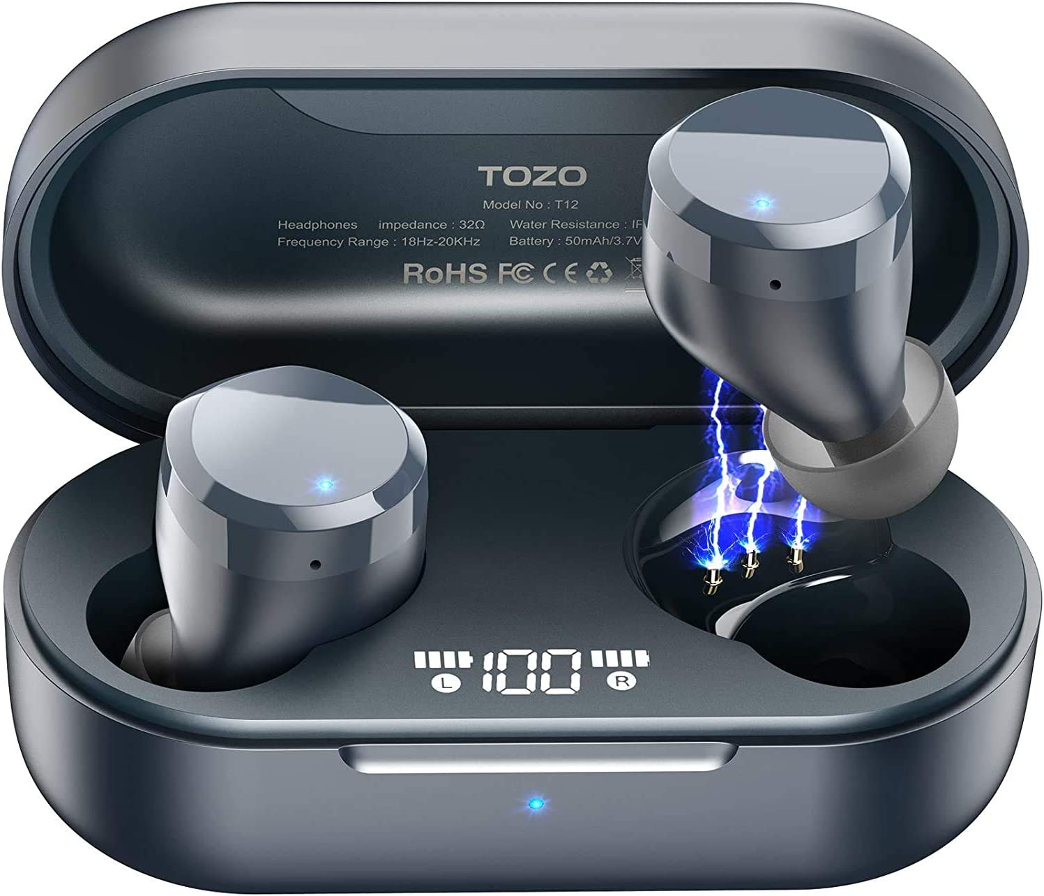 Análisis Auriculares TOZO T12 True Wireless