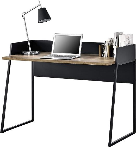 en.casa]®] Mesa Escritorio con 3 Compartimientos 120 x 60 x 90 cm ...