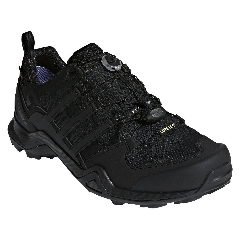 adidas outdoor Terrex Swift R2 GTX Mens Hiking Boot Black/Black/Black, Size 6.5 by adidas outdoor (Image #1)