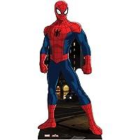 PARTYRama - Estatua de cartón de Spiderman (tamaño Natural: 173 cm)